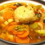 The Hirshon Jewish Kurdish Kubbeh in Chicken Soup - קובה חאמו