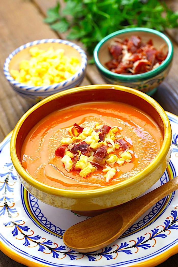 The Hirshon Spanish Chilled Tomato Soup – Salmorejo
