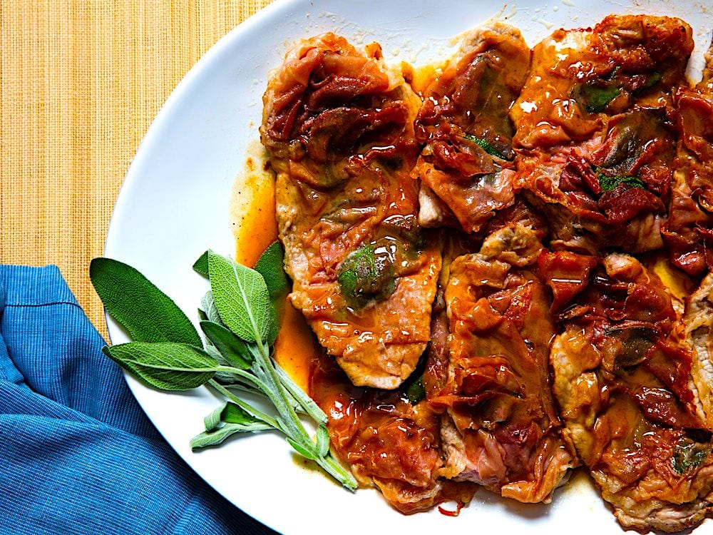 The Hirshon Italian Veal Saltimbocca, Continental-Style