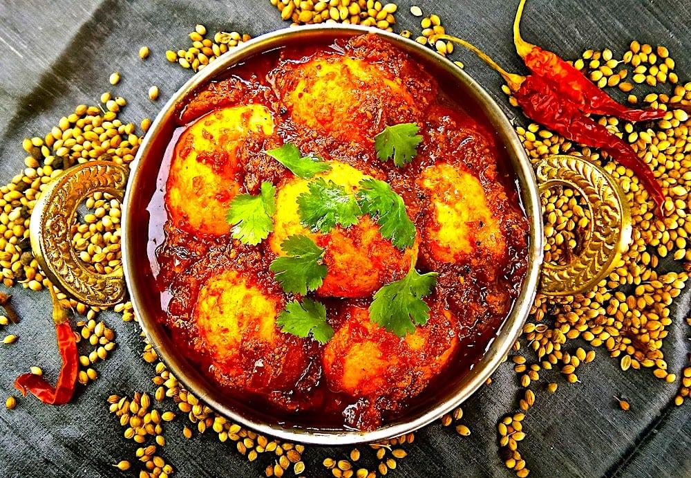 The Hirshon Chettinad Egg Curry – முட்டை குழம்பு