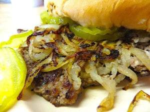 The Hirshon Oklahoma Onion Burger