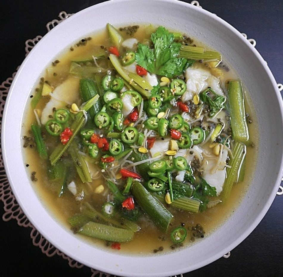 Green Sichuan Pepper Fish – 青花椒魚