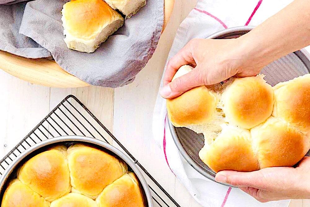 King Arthur Flour's Butter Pull-Apart Buns
