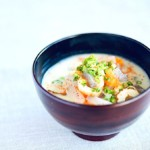 The Hirshon Hokkaido Smoked Salmon and Sake Lees Soup - サケ酒のスープ