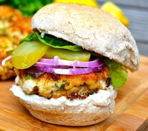 The Hirshon South Carolina Shrimp Burger