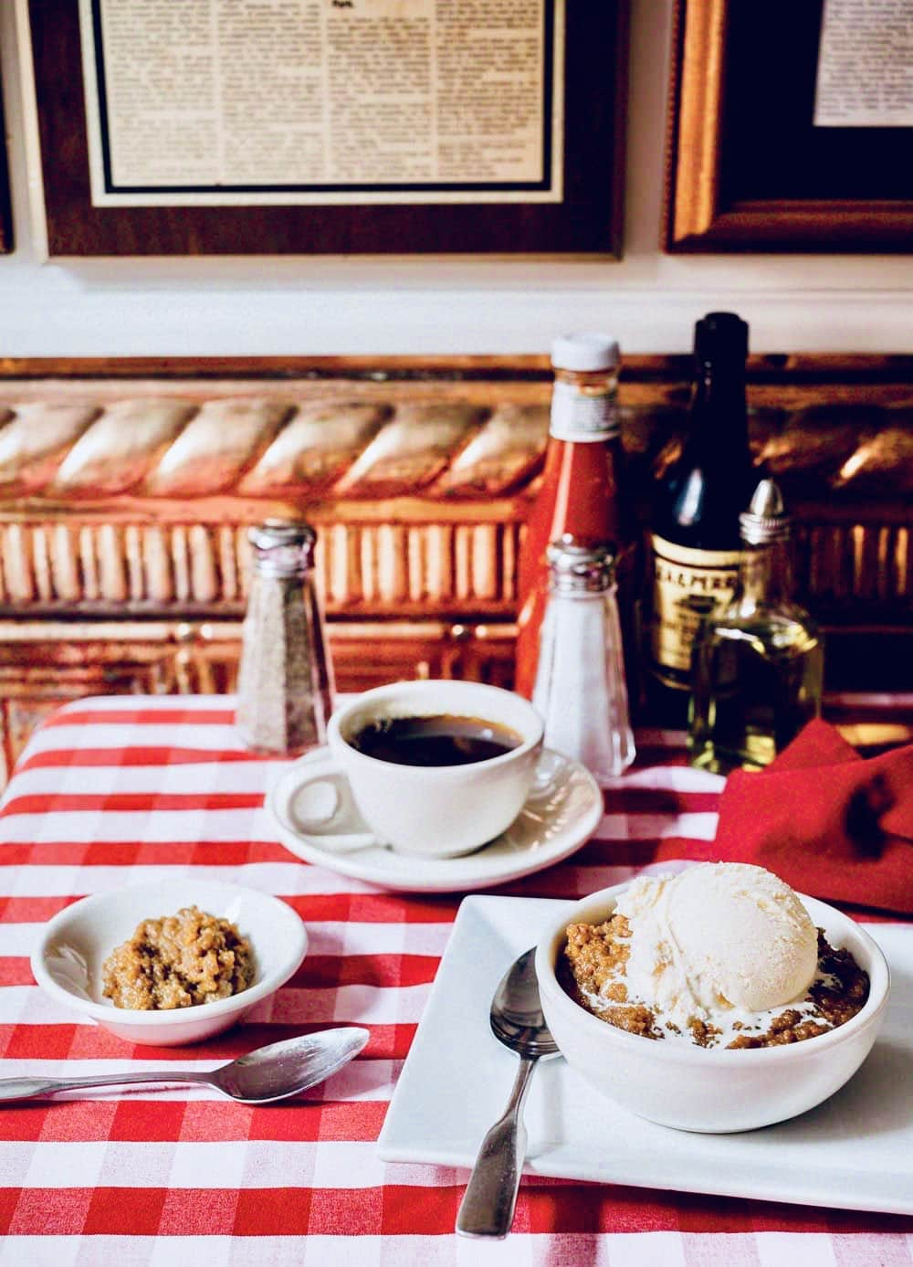 The Hirshon Durgin-Park Indian Pudding With Vanilla Gelato