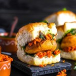 The Hirshon Mumbai Spicy Fried Mashed Potato Sandwich - वड़ा पाव