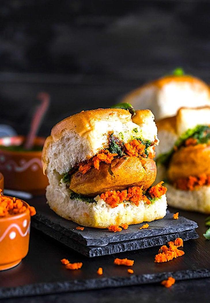 The Hirshon Mumbai Spicy Fried Mashed Potato Sandwich – वड़ा पाव
