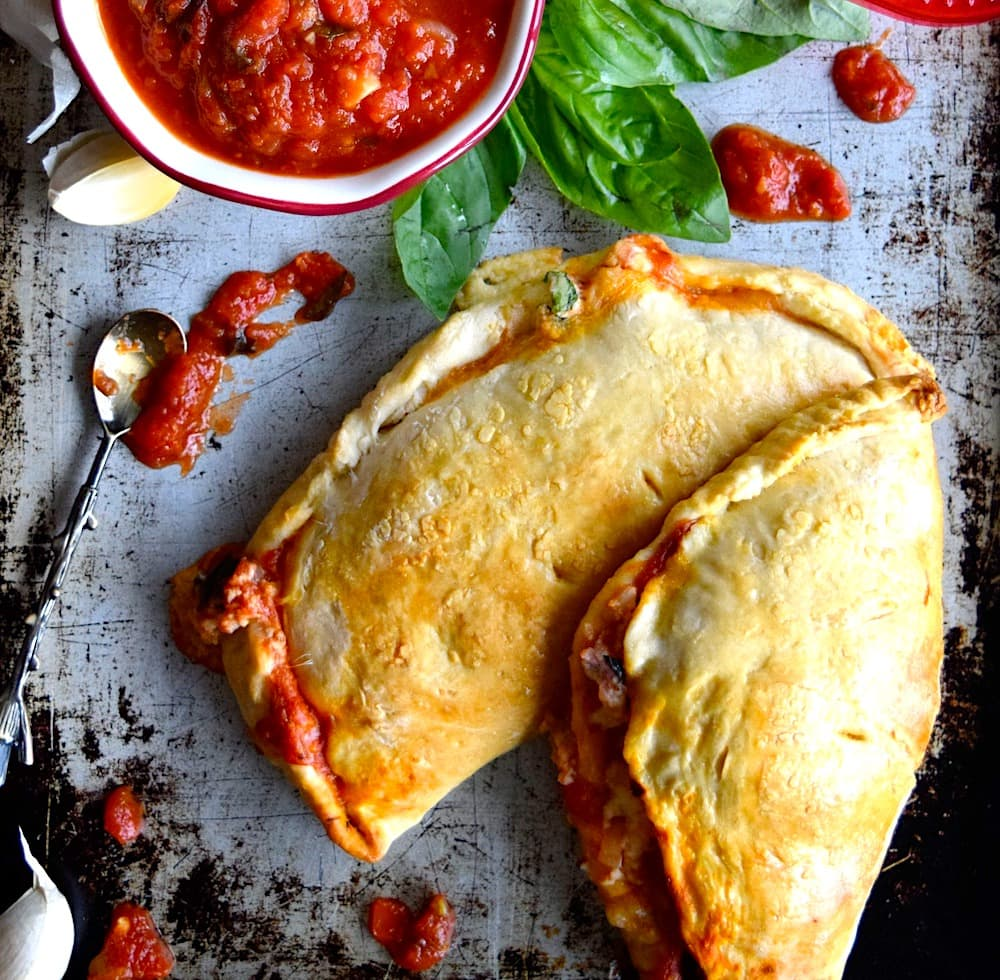 The Hirshon Spicy, Cheesy and Meaty Italian-American Calzone