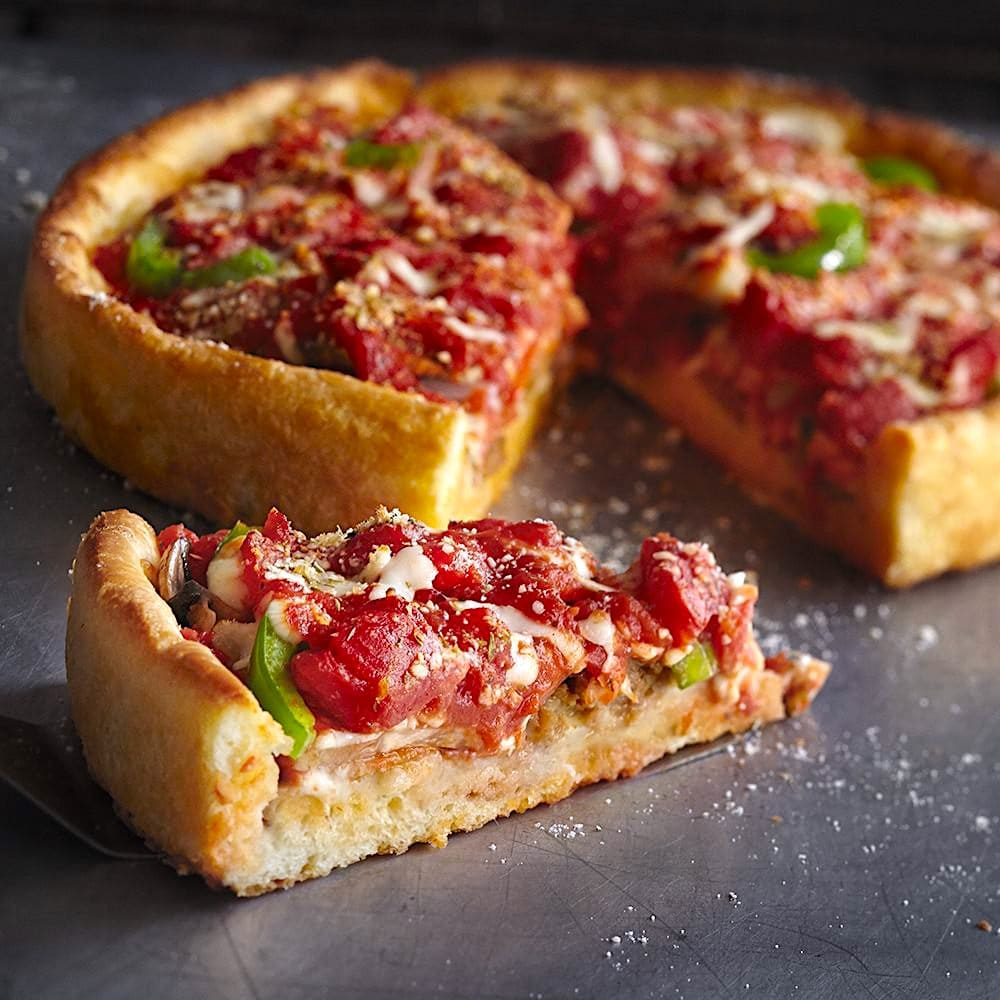The Top-Secret Recipe For Pizzeria Uno Deep Dish Pizza