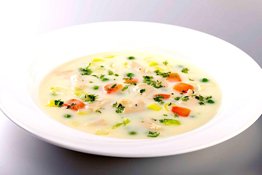 The Hirshon Dutch Queen's Cream of Chicken Soup - Koninginnesoep