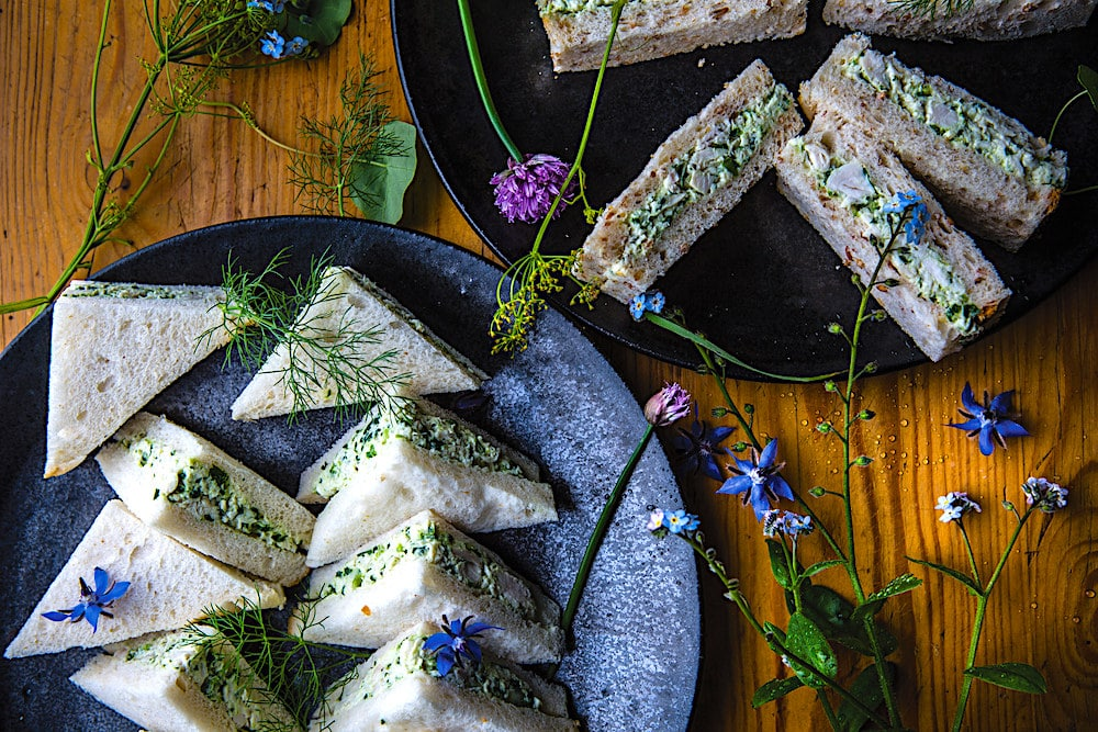 Peter Rowland's World-Famous Australian Chicken Salad Sandwich