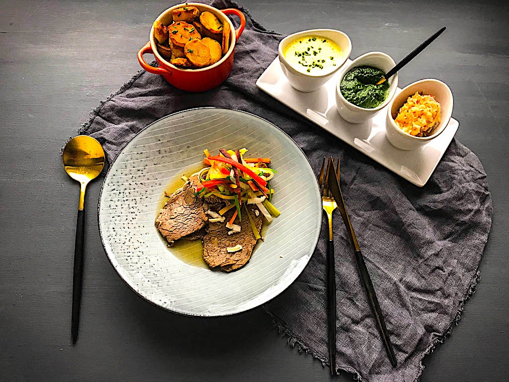 The Hirshon Austrian Boiled Beef With Traditional Accompaniments – Tafelspitz