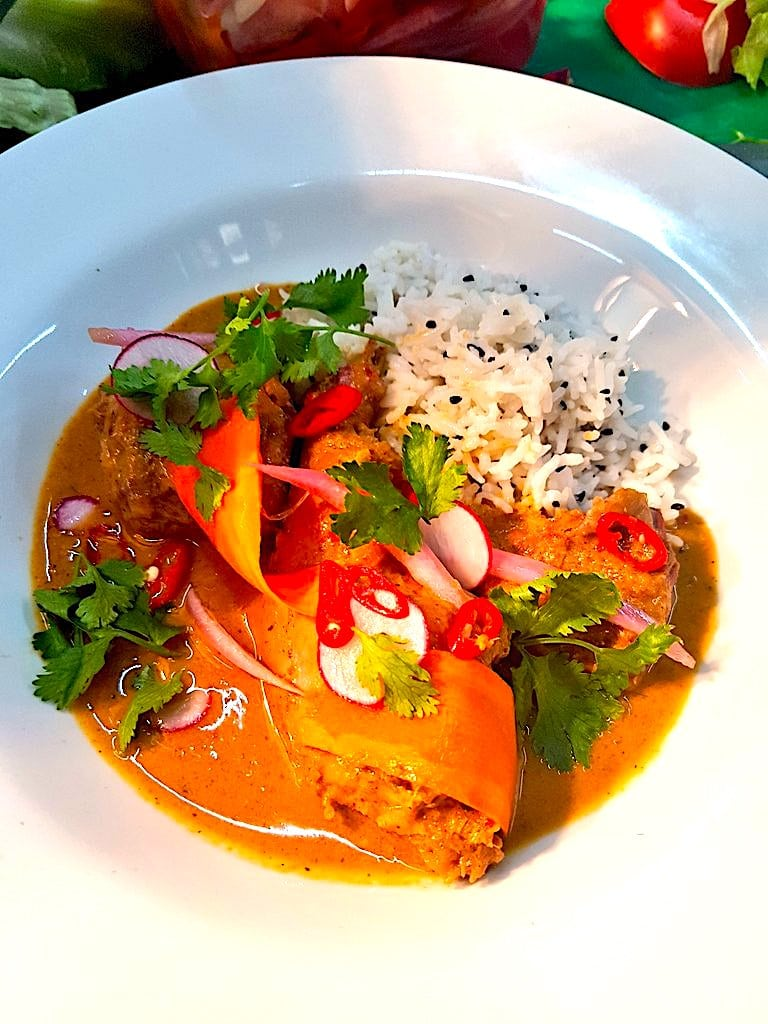 The Hirshon Thai Rabbit Curry – แกงกะหรี่กระต่าย
