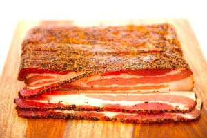 The Hirshon Pastrami-Style Homemade Peppered Bacon