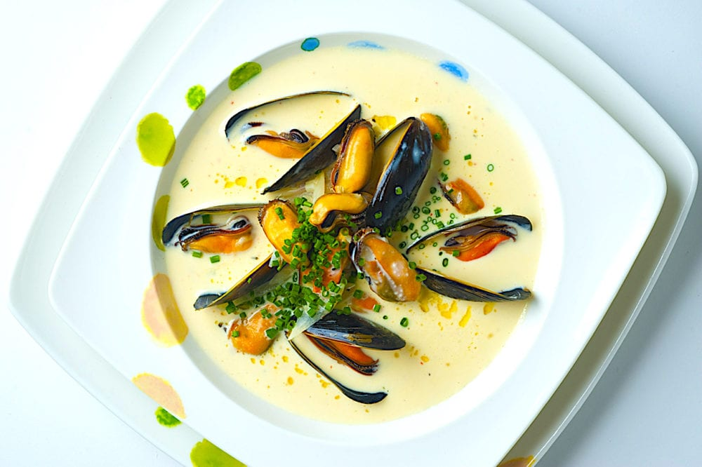 The Hirshon Brittany Cream of Mussel Soup - Billi Bi