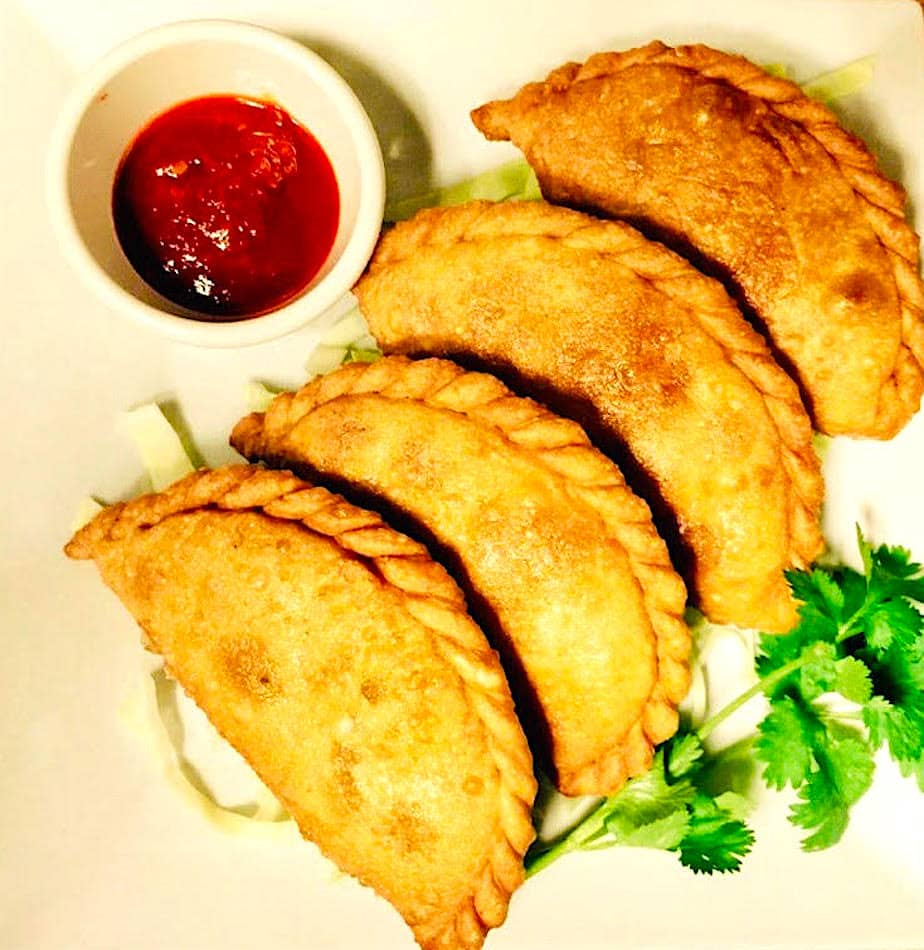 The Hirshon Tibetan Shapale Deep-Fried Meat Pies - ཤ་བག་ལེབ