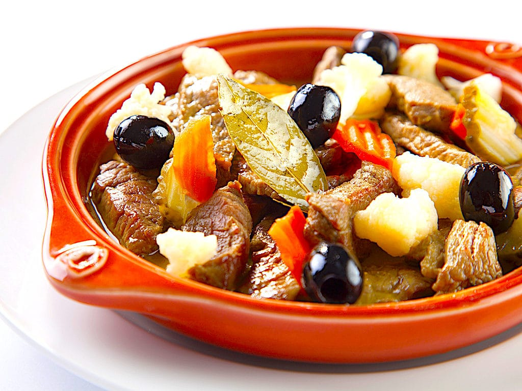 """The Hirshon Portuguese Spicy """"Woodpecker"""" Beef And Pickled Vegetables - Pica Pau"""