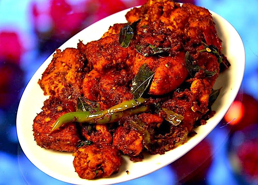 The Hirshon Telugu Chicken Fry - కోడి వేపుడు