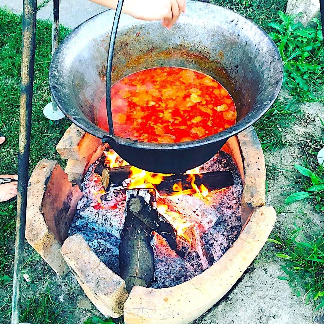 The Hirshon Carpathian Beef and Pork Stew with Dumplings – Bogrács Gulyás