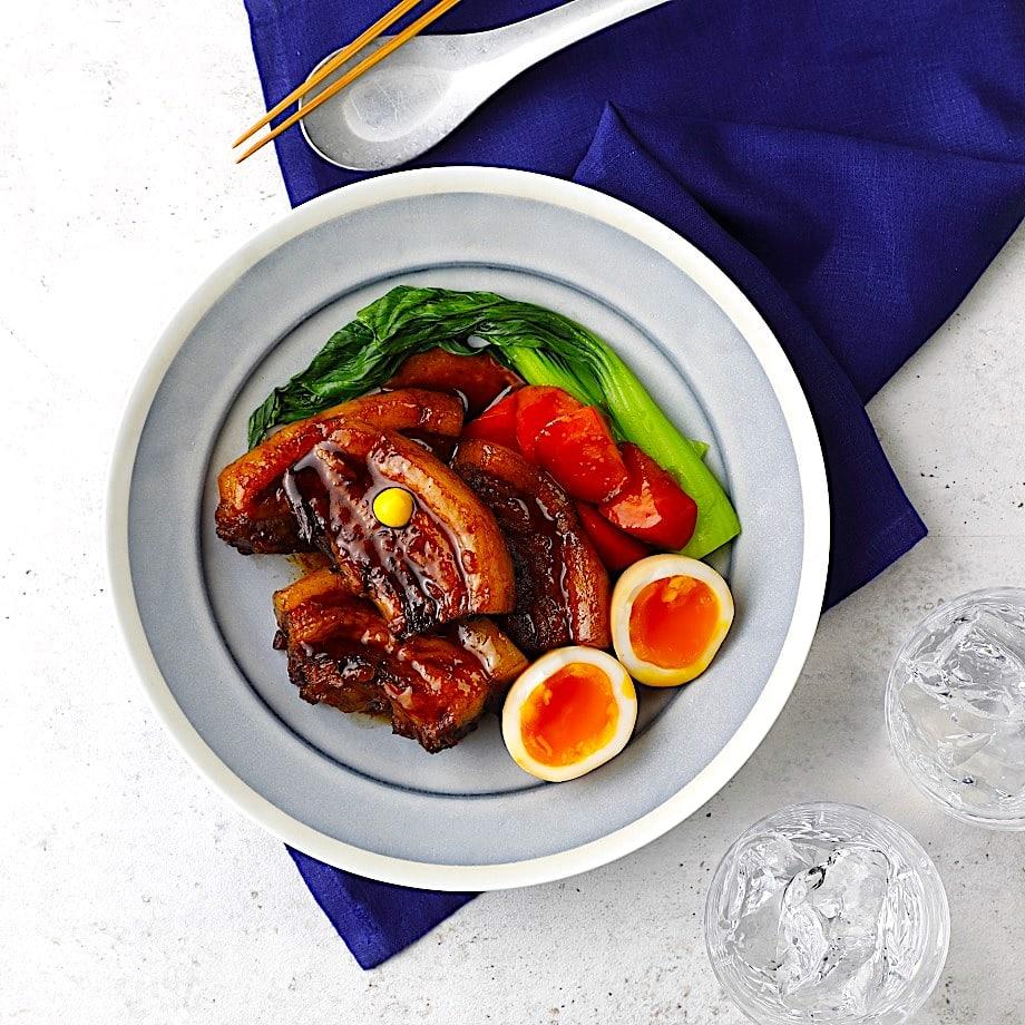 The Hirshon Hawaiian Okinawan Miso Glazed Pork Belly Rafute – ラフテー