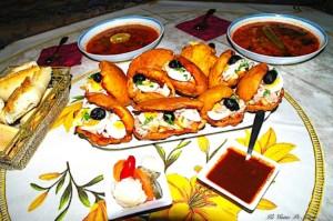 The Hirshon Spicy Tunisian Tuna Sandwich – Casse-Croûte Tunisien, فريكاسي تونسي