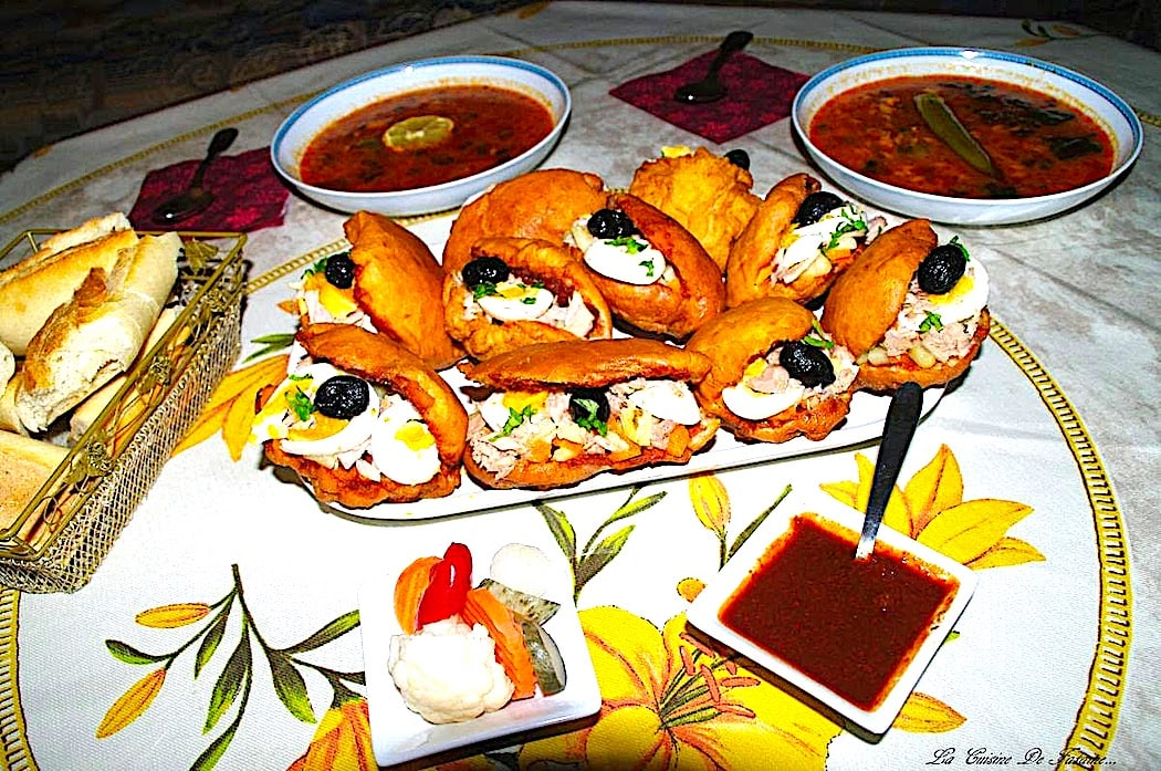The Hirshon Spicy Tunisian Tuna Sandwich - Casse-Croûte Tunisien, فريكاسي تونسي