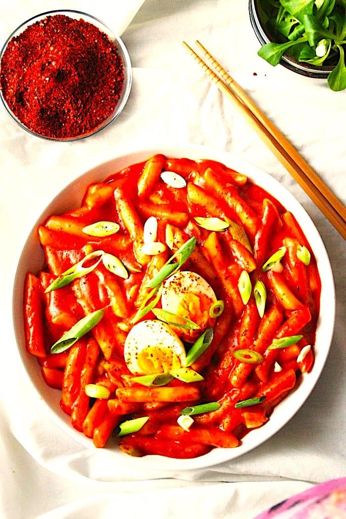 The Hirshon Korean Spicy Stir-Fried Tteok-Bokki – 떡볶이