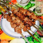 The Hirshon Georgian Mtsvadi BBQ Pork Skewers - მწვადი