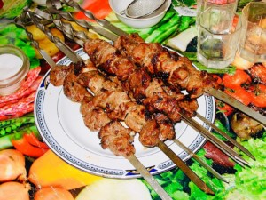 The Hirshon Georgian Mtsvadi BBQ Pork Skewers – მწვადი