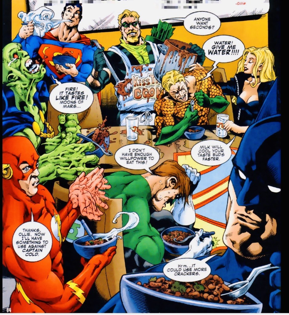 Green Arrow's Chili of Unquenchable Fire