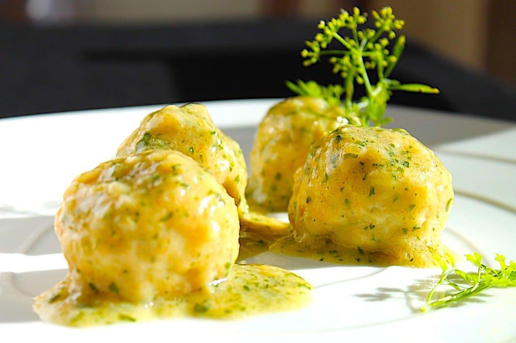 The Hirshon Byzantine Empire Lamb Meatballs in Lemon Sauce - Γιουβαρλάκια