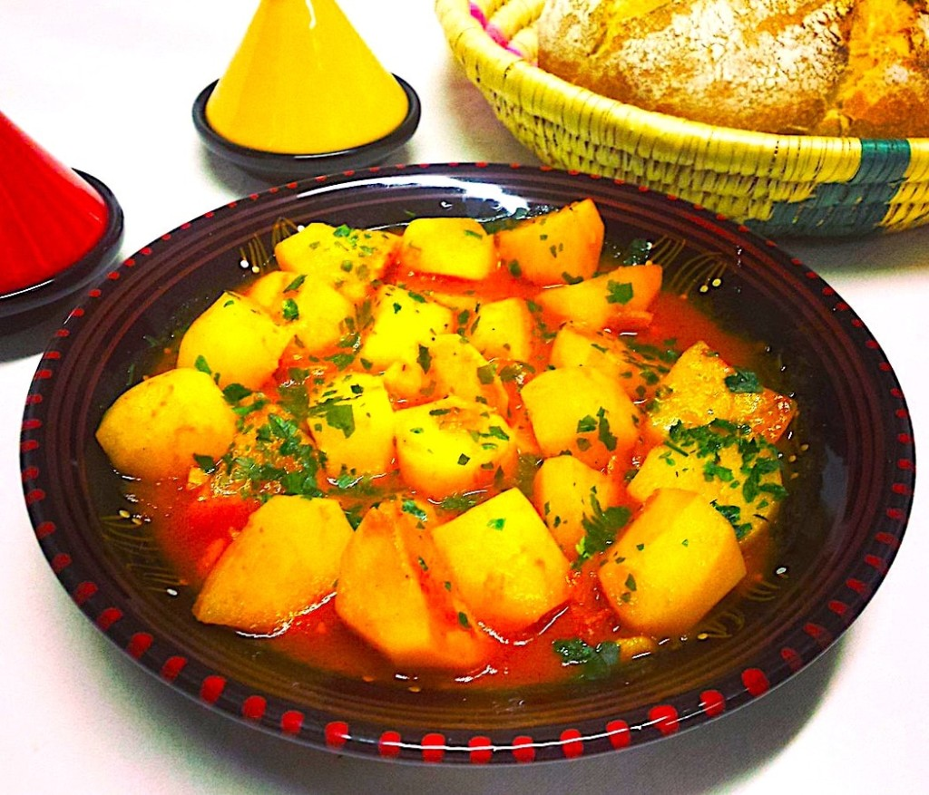 The Hirshon Western Algerian Spicy Potato Stew - شطيطحة بطاطا