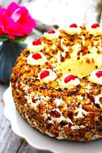 The Hirshon German Crown Cake – Frankfurter Kranz