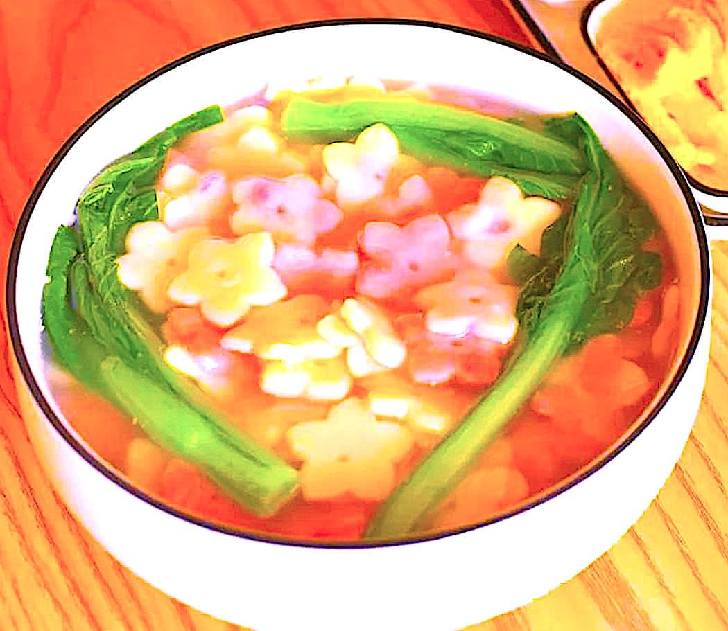 The Hirshon Medieval Chinese 'Plum Blossom' Soup - 梅花汤饼