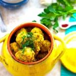 The Hirshon Medieval Moor Cumin Meatballs With Saffron Sauce - كرات اللحم مع صلصة الزعفران