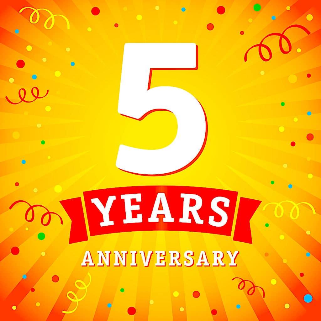 TFD 5th Anniversary!