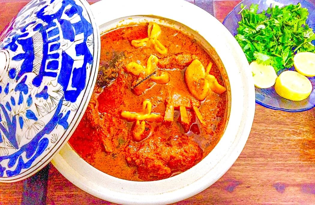 The Hirshon Indian Akhti Mughal Lamb Stew – آختی