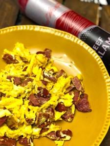 The Hirshon Jewish Salami and Eggs – וווּרשט און עיער