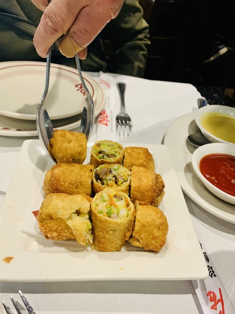The Hirshon Chinese-American Egg Rolls
