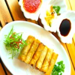 The Hirshon Chinese New Year Spring Rolls With Dipping Sauces - 春卷