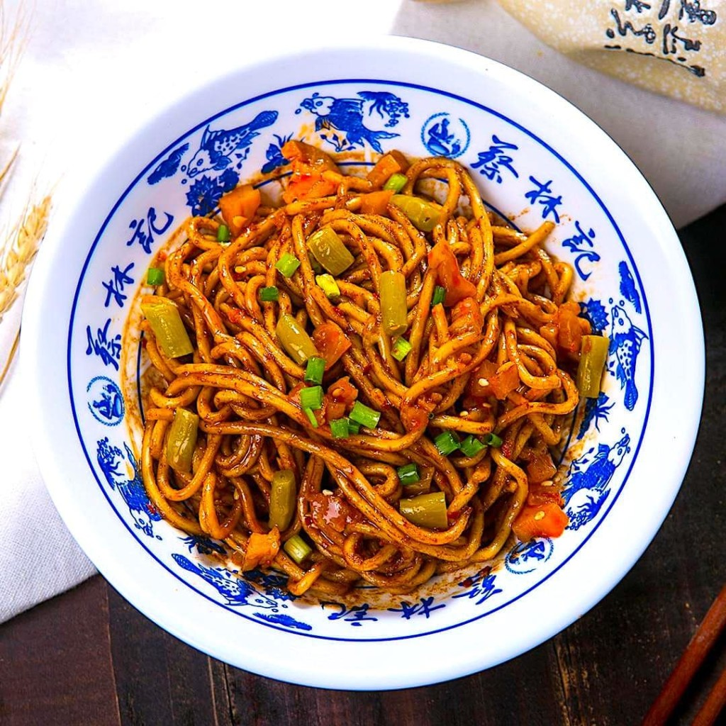 The Hirshon Chinese Wuhan Hot Dry Noodles - 热干面