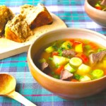 The Hirshon Welsh Lamb, Beef, Bacon and Vegetable Soup - Cawl Cymreig Traddodiadol