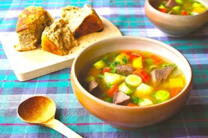 The Hirshon Welsh Lamb, Beef, Bacon and Vegetable Soup – Cawl Cymreig Traddodiadol