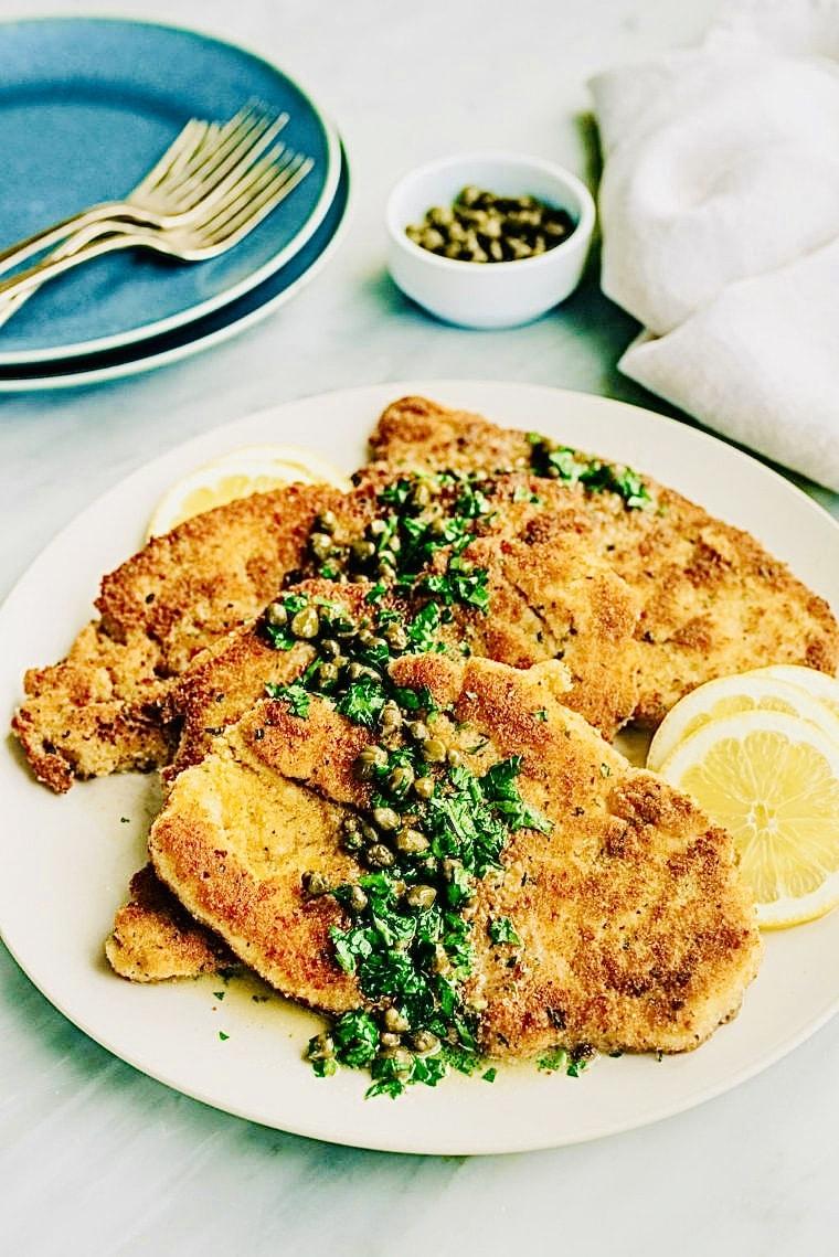 The Hirshon Italian-American Ultimate Chicken Piccata