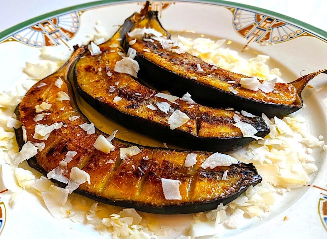 The Hirshon Equatorial Guinea Baked Banana Coconut Dessert – Akwadu