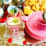 The Hirshon Afghani Spiced Pink Milk Chai - قیماق ګلابي چای
