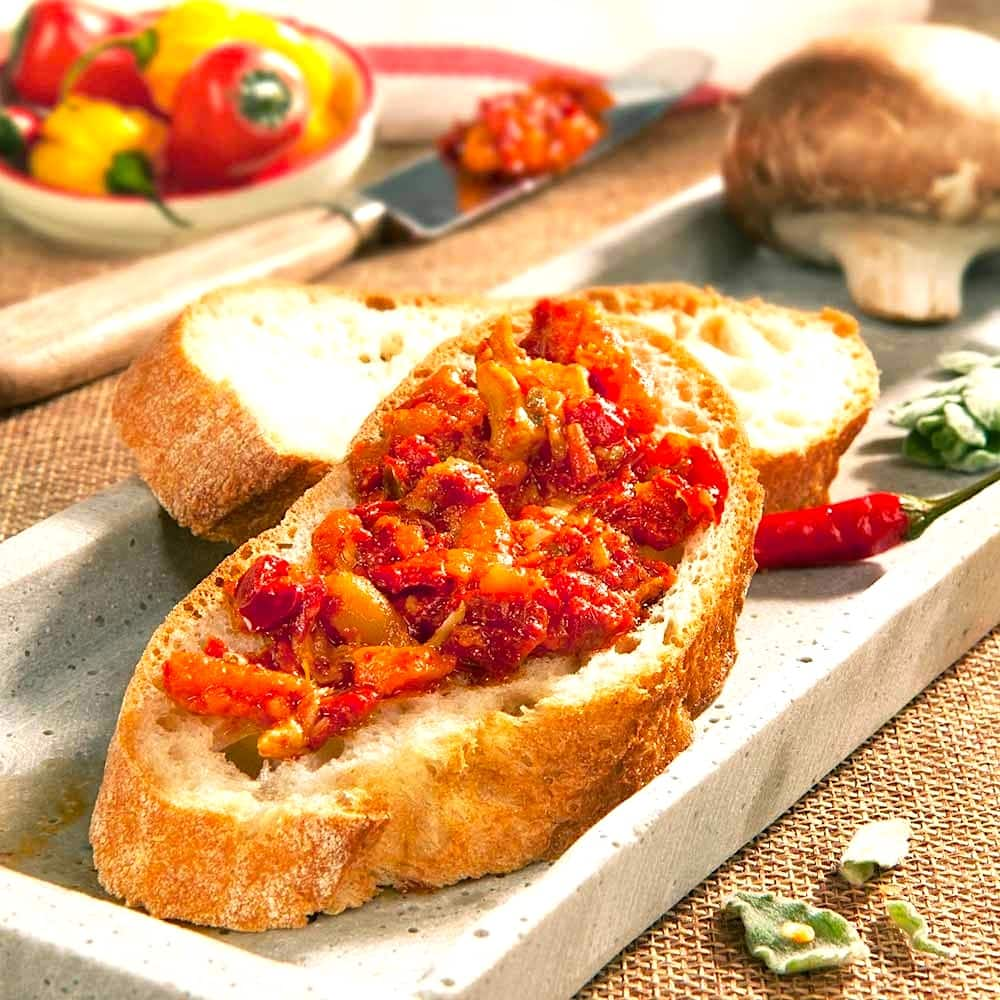 The Hirshon Calabrian Spicy Vegetable Spread - Bomba Calabrese