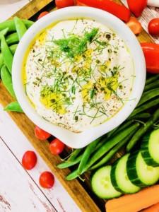 The Hirshon 'Social Distancing' Roasted Garlic Herb Dip