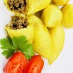 The Hirshon Iraqi Meat-Stuffed Rice Croquettes - كوبه حلب